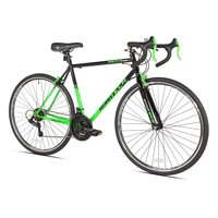 Kent 700c Men's, RoadTech Road Bike, Black/Green