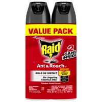 Raid Ant & Roach Killer 26, Outdoor Fresh Scent, 17.5 oz (2 ct)
