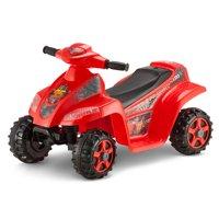 6V Lightning McQueen Toddler Quad, Red