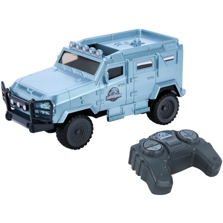 Radio Controlled Rc Vehicle - Matchbox Jurassic World MDT Tiger Light Protected RC Vehicle
