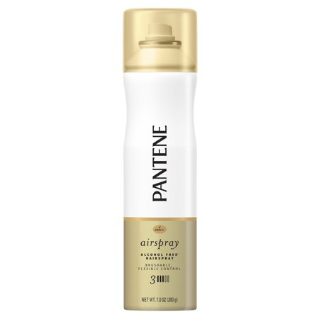 - Pantene Pro-V Level 3 Airspray Hairspray for Smooth, Soft Finish, 7oz