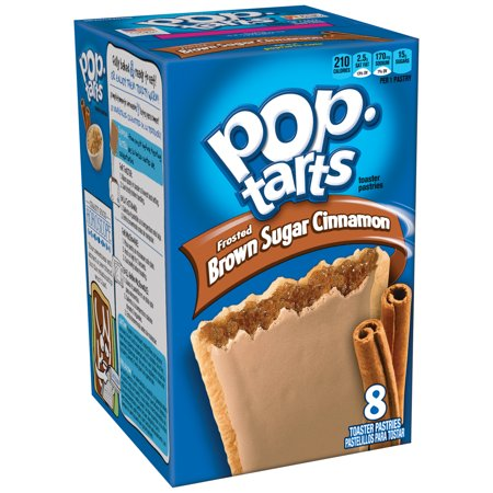 (4 Pack) Kellogg's Pop-Tarts Breakfast Toaster Pastries, Frosted Brown Sugar Cinnamon Flavored, 14 oz 8 Ct](Easy Halloween Pastries)