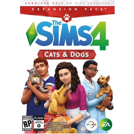 The Sims 4 Cats & Dogs Expansion Pack, Electronic Arts, PC, 014633368871 - Sims 4 Halloween Cc