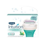 Schick Intuition Sensitive Care Moisturizing Razor Blade Refills for Women with Natural Aloe - 3 Count
