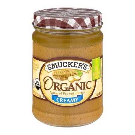 Deluxe Creamer - Smucker's Organic Creamy Peanut Butter, 16 oz