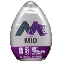 (12 Pack) MiO Berry Pomegranate Liquid Water Enhancer, 1.62 fl oz Bottle