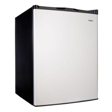 Haier 4.5 Cu Ft Single Door Mini Fridge HC46SF10SV, Virtual (Ge 4-5 Cu Ft Compact Refrigerator Black)
