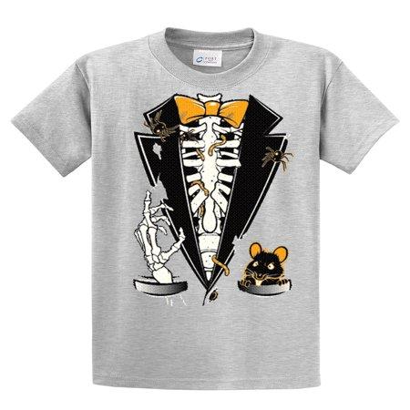 Tuxedo T-Shirt Halloween Skeleton Tuxedo](Skeleton Shirt For Kids)