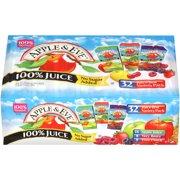 Apple & Eve 100% Juice, Variety Pack, 6.75 Fl Oz, 32 Count