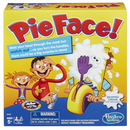 Pie Face Game Ages 5 And Up Walmart Com