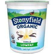 Stonyfield Organic® Smooth & Creamy Lowfat French Vanilla Yogurt 32 oz. Tub