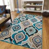 Century Rugs Area Rugs on Clearance Blue 8x10 Rugs for Living room 8x10 under100 Gray Bedroom Rugs Contemporary Area Rugs 8x11 Large