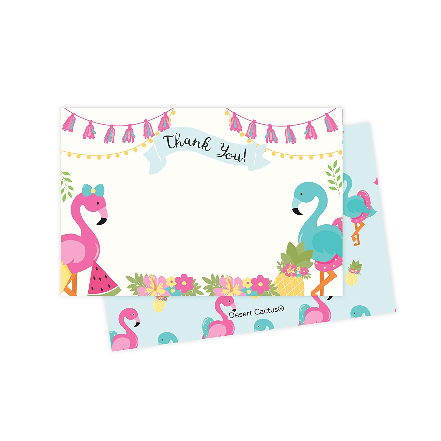 Construction Thank You Cards 25ct With Envelopes /& Seal Stickers Bulk Birthday Party Bridal Blank Graduation Kids Children Boy Girl Baby Shower 25 Count