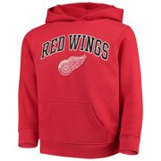 23177e1ae50 Youth Red Detroit Red Wings Team Logo Pullover Hoodie