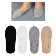 6 Pair Mens No Show Socks Boat Low Cut Ped Loafers Liner Ankle Foot Cover 10-13