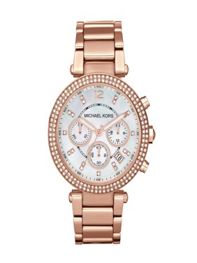 Women's Parker Stainless Steel Rose Gold-Tone Watch, 39mm, MK5491