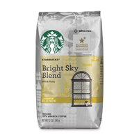 Starbucks Bright Sky Blend Light Blonde Roast Ground Coffee, 12-Ounce Bag