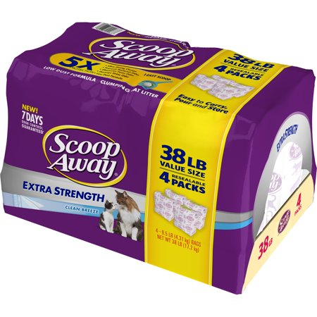 Scoop Away Extra Strength Clumping Cat Litter, Scented, 38 lbs