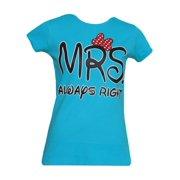 c9475435387 Womens Short-Sleeve Mrs. Always Right T-Shirt