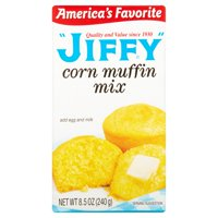 (6 Pack) Jiffy Corn Muffin Mix, 8.5 oz