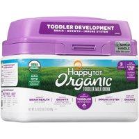 Happy Tot Grow & Shine Organic Toddler Milk Drink Powder, 23.2 oz