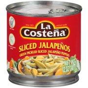 La Costena Green Pickled Sliced Jalapeño Peppers, 12 Oz