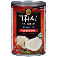 (4 Pack) Thai Kitchen Organic Unsweetened Coconut Milk, 13.66 oz