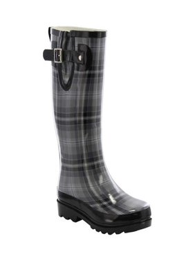 Women's Western Chief Highland Plaid Rain Boot