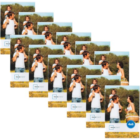 Mainstays 4 X 6 Clear Magnetic Frame Set Of 12 Walmartcom