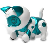 Tekno Robotic Pets, Newborn Kitty, Teal
