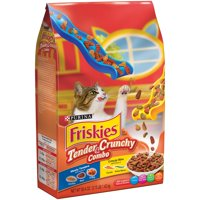 (2 Pack) Purina Friskies Tender & Crunchy Combo Dry Cat Food, 3.15 lb