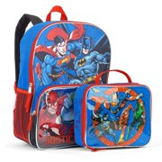 Reduced Price. Product Image. DC Justice League Time Backpack With Lunchbox 58a1a90a964a5