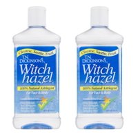 (2 Pack) Dickinson's Witch Hazel Cleansing Astringent, 16 Fl Oz