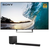 Sony XBR-75X850E 75-inch 4K HDR Ultra HD Smart LED TV (2017 Model) w/ Sony HT-ST5000 7.1.2ch 800W Dolby Atmos Sound Bar
