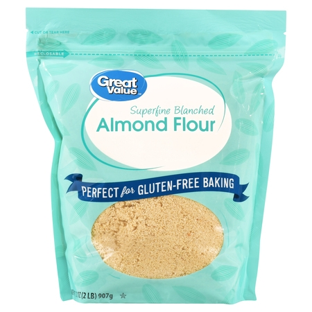 Great Value Superfine Blanched Almond Flour, 2 Lb