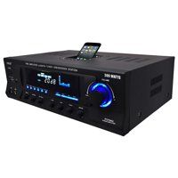 New Pyle Pro PT270AIU 300W Home Amplifier Receiver Stereo iPod Dock AM/FM USB/SD