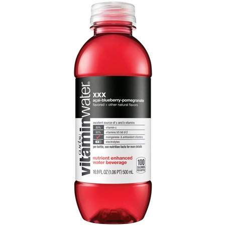 (24 Bottles) Vitaminwater, XXX, 16.9 Fl Oz, 6 Count ()