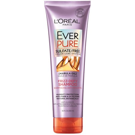 L'Oreal Paris EverPure Sulfate Free Frizz Defy Shampoo, 8.5 fl. oz.