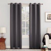 Sun Zero Nolan Energy Efficient Blackout Grommet Curtain Panel