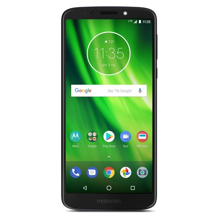 Boost Mobile Motorola Moto G6 Play 16GB Prepaid Smartphone, Black ()