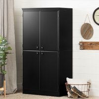 South Shore Morgan 4-Door Storage Cabinet, Multiple Finishes