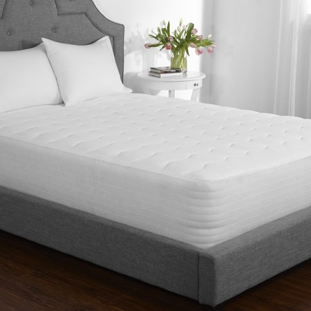 Mainstays 7 5 Ounce Fill Extra Thick Mattress Pad