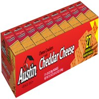 Austin Cheese Crackers with Cheddar Cheese Sandwich Crackers, 1.38 Oz., 27 Count