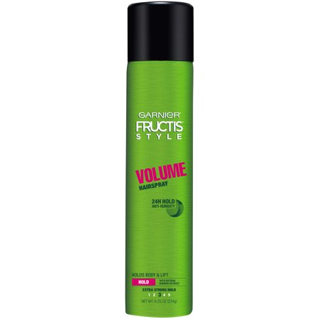Garnier Fructis Style Volume Anti-Humidity Hairspray, Extra Strong Hold, 8.25