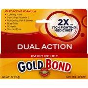 Gold Bond Medicated Rapid Relief Anti-Itch Cream 1oz