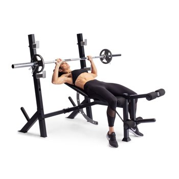 Weider Legacy Olympic Workout Bench and Rack