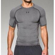 01f8328261 Under Armour Men's HeatGear Armour Short Sleeve Compression Shirt  1257468-090 Carbon Heather