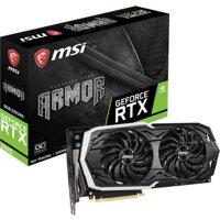 MSI ARMOR GeForce RTX 2070 ARMOR 8G OC GeForce RTX 2070 Graphic Card - 1.41 GHz Core - 1.74 GHz Boost Clock - 8 GB GDDR6 and Battlefield V or Anthem - Game Bundle