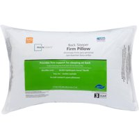 Mainstays 100% Polyester Firm Support Pillow in Multiple Sizes