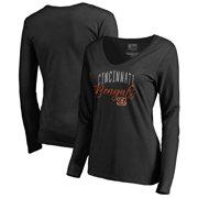 c8e4e1769 Cincinnati Bengals NFL Pro Line by Fanatics Branded Women s Graceful Long  Sleeve V-Neck T